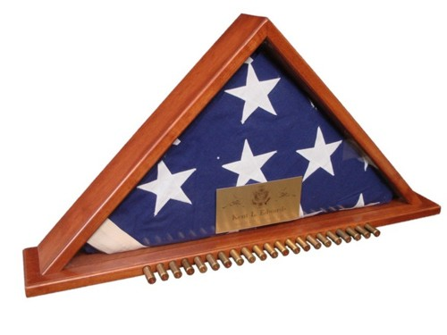 Patented Rifle Salute Flag Case