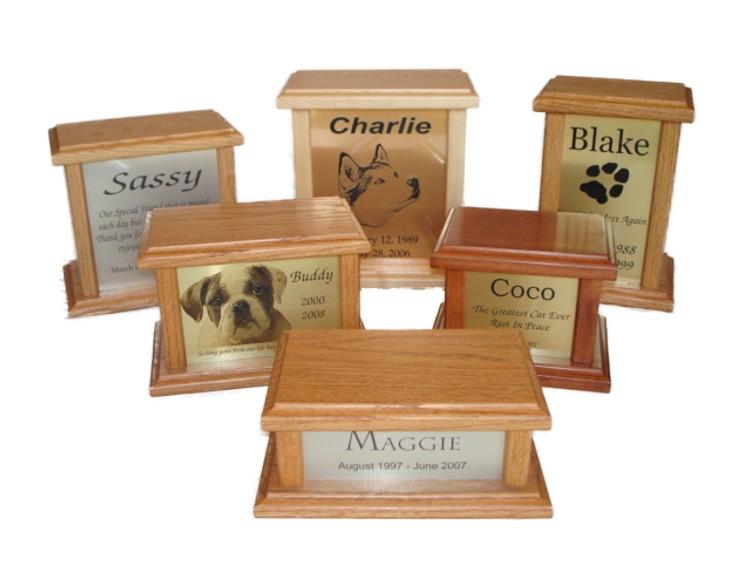 Pet Cremation Urns Wood Pet Cremation Urns